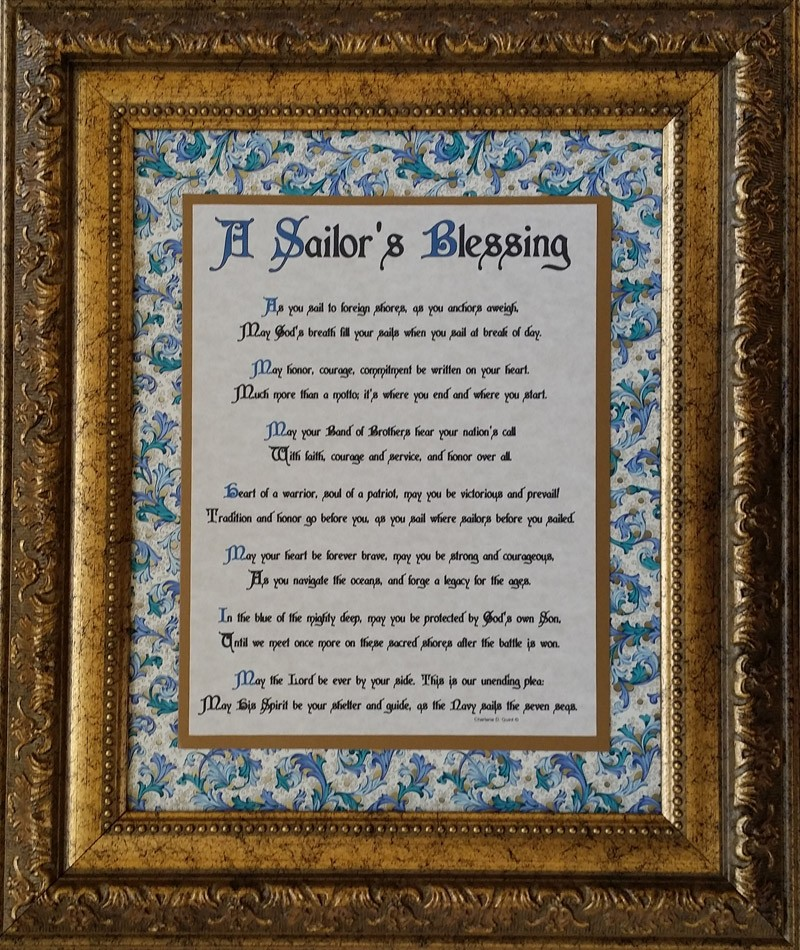A Sailor S Blessing