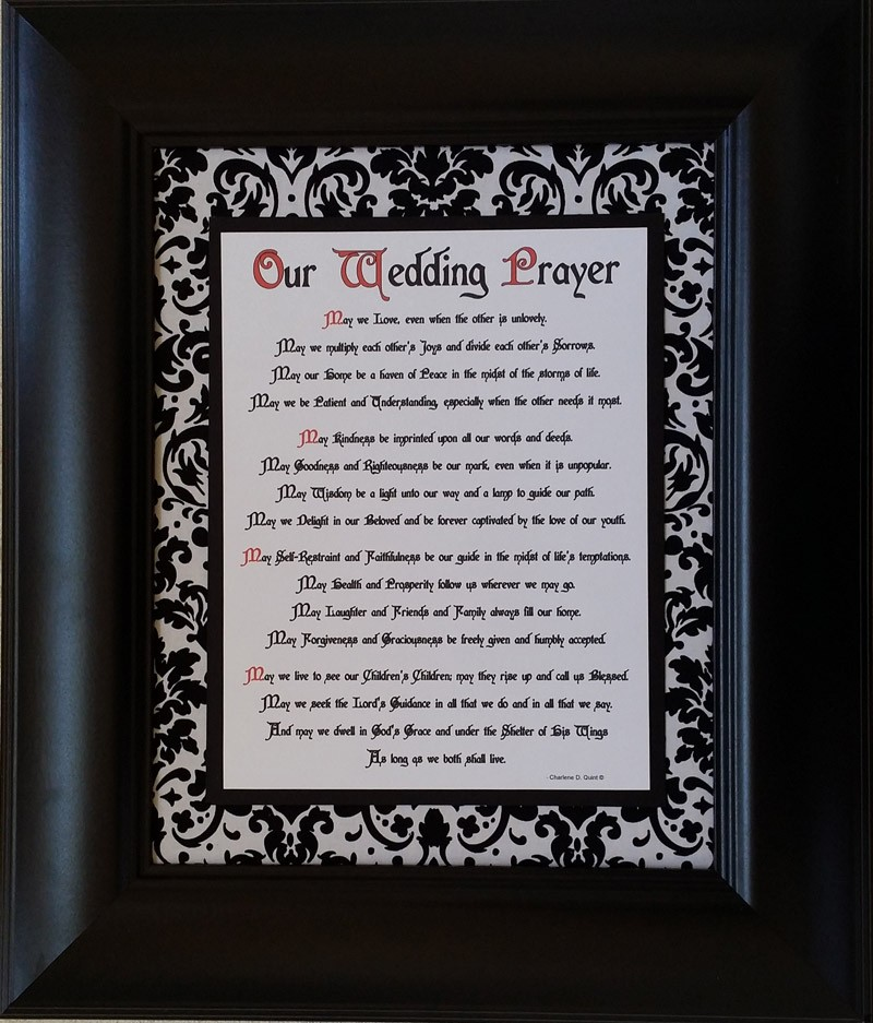 Our Wedding Prayer