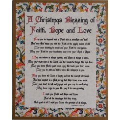 A Christmas Blessing of Faith, Hope and Love