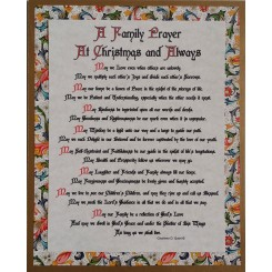 Our Family Prayer at Christmas and Always