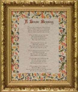 A House Blessing – Traditional Collection 8×10 Gold Frame